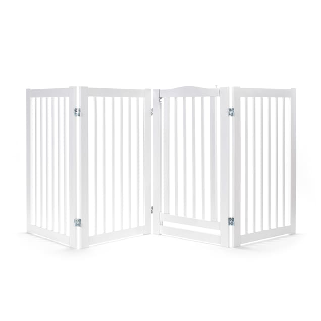 "Primetime Petz 360 Degree 36"" H Configurable Pet Gate with Door, 88"" L X 0.8"" W - Carousel image #1"