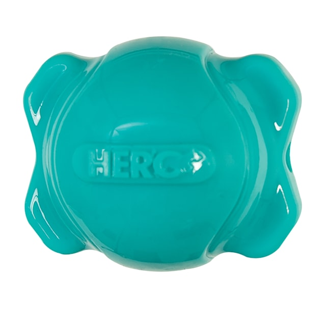 Hero Blue Squeaking Bone Ball Puppy Toy, Small - Carousel image #1