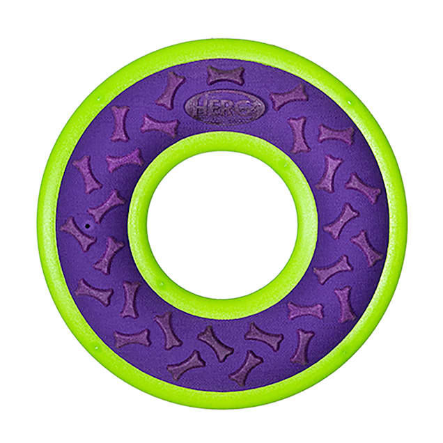 Hero Purple Outer Armor Ring Dog Toy, Large - Carousel image #1