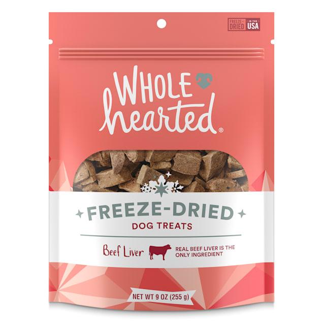 WholeHearted Beef Liver Freeze-Dried Dog Treats, 9 oz. - Carousel image #1