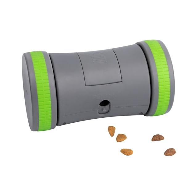 PetSafe Kibble Chase Roaming Treat Dropper Dog Toy, Small - Carousel image #1