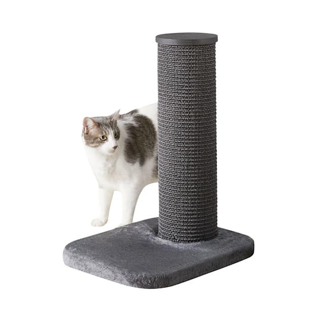 """Two by Two Maple 1 Level Grey Cat Tree, 18.5"""" L X 15.4"""" W X 24.4"""" H - Carousel image #1"""