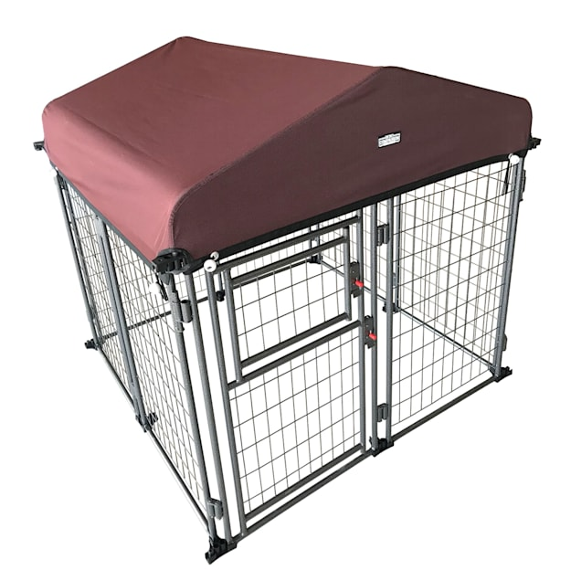 """Two by Two Expandable Kennel with Detachable Cover, 48"""" L X 48"""" W X 54"""" H - Carousel image #1"""