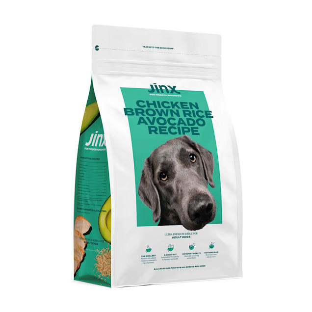 Jinx Chicken, Brown Rice and Avocado Dry Dog Food, 10 lbs., Case of 2 - Carousel image #1