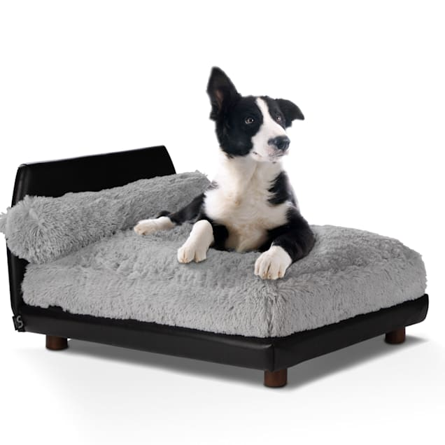"Club Nine Pets Grey Lido Orthopedic Dog Bed, 26"" L X 37"" W - Carousel image #1"