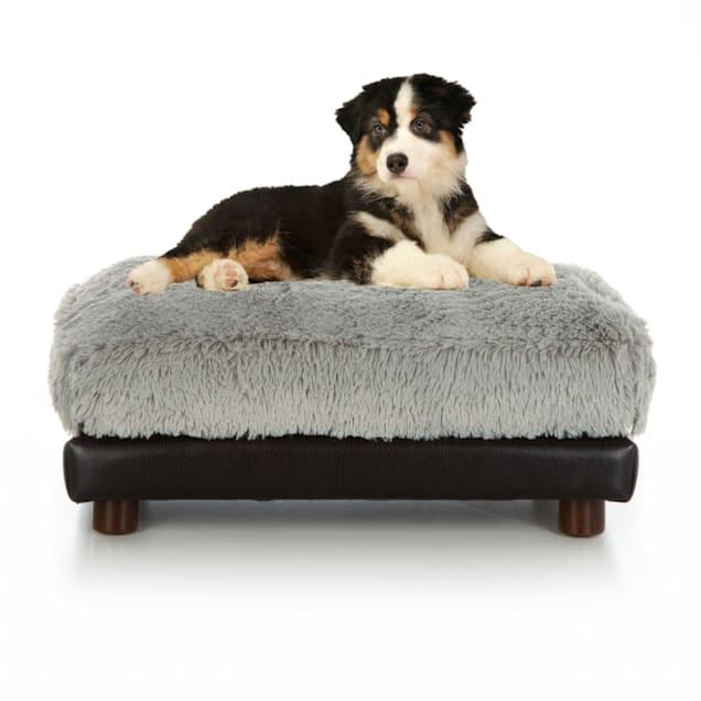 "Club Nine Pets Grey Milo Orthopedic Dog Bed, 16"" L X 18"" W - Carousel image #1"