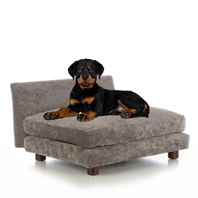"Club Nine Pets Charcoal Roma Orthopedic Dog Bed, 29"" L X 34"" W - Carousel image #1"