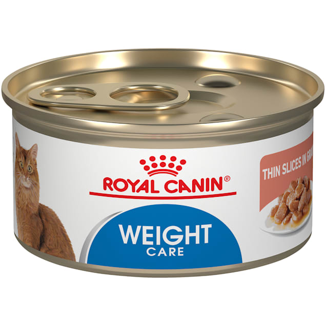 Royal Canin Feline Weight Care Thin Slices in Gravy Canned Adult Wet Cat Food, 3 oz., Case of 24 - Carousel image #1