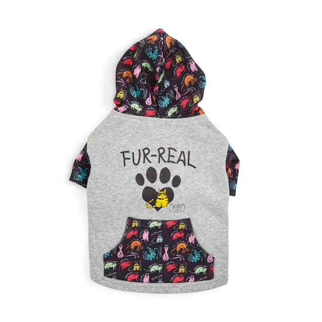 BOBS from Skechers Neon Fur-real Cat Hoodie - Carousel image #1