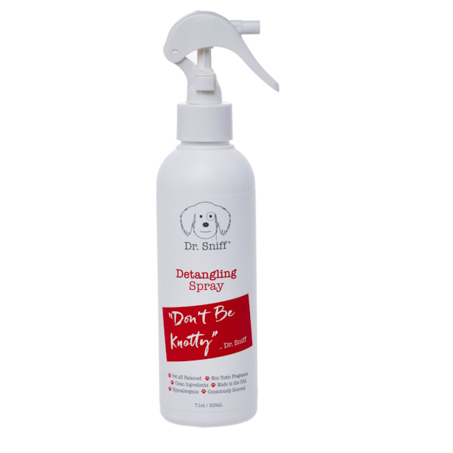 Dr. Sniff Don't Be Knotty Detangling Dog and Cat Spray, 7.1 fl. oz. - Carousel image #1