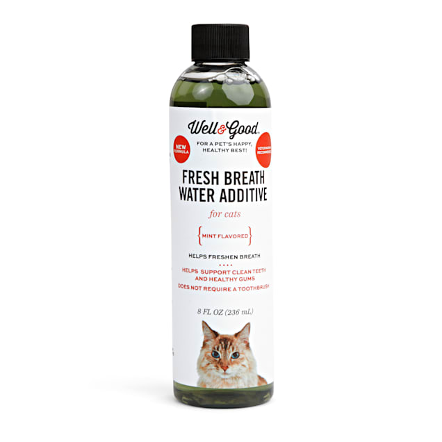 Well & Good Cat Fresh Breath Water Additive, 8 fl. oz. - Carousel image #1