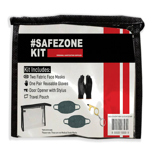 G&G Outfitters Safezone Mask, Glove, Sanitizer Wipe Covid Kit - Carousel image #1
