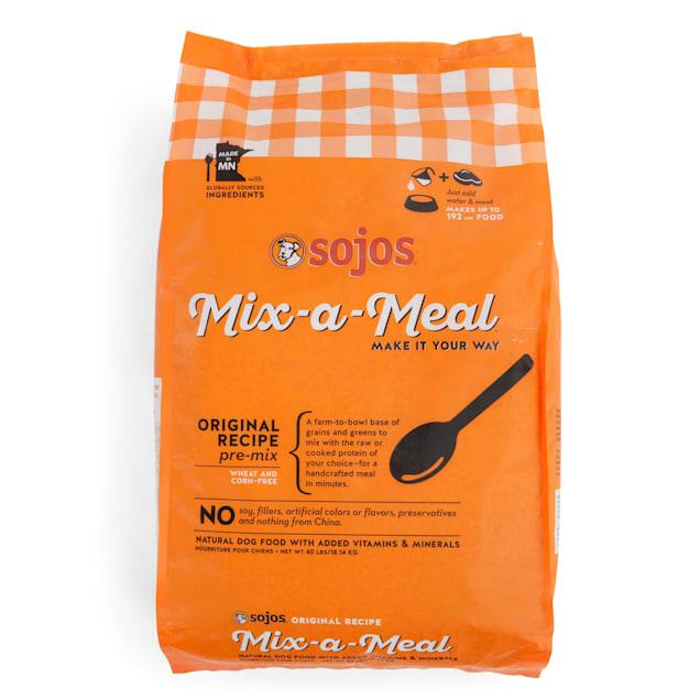 Sojos Mix-A-Meal Original Recipe Pre-Mix Dry Dog Food, 40 lbs. - Carousel image #1