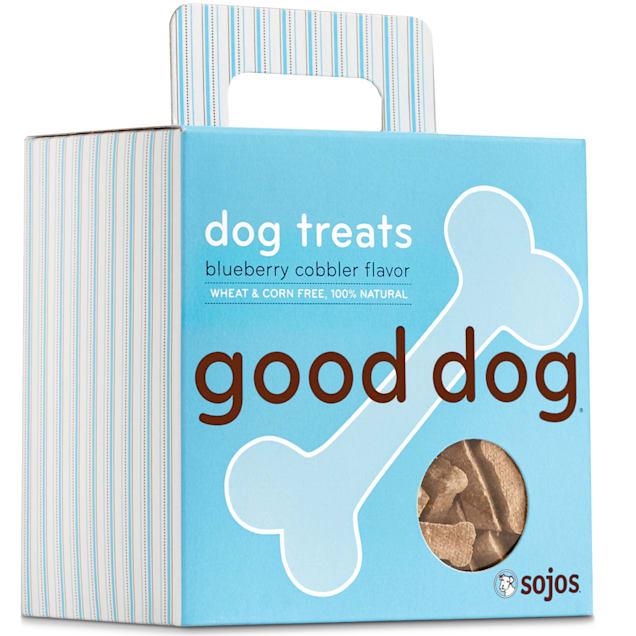 Sojos Good Dog Blueberry Cobbler Flavor Dog Treats, 8 oz. - Carousel image #1