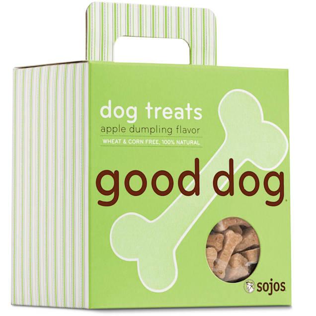 Sojos Good Dog Apple Dumpling Flavor Dog Treats, 8 oz. - Carousel image #1