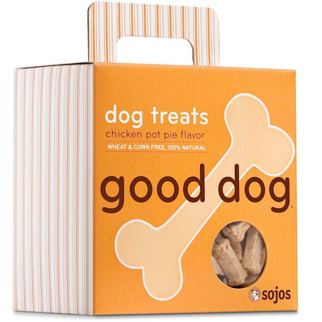 Sojos Good Dog Chicken Pot Pie Flavor Dog Treats, 8 oz. - Carousel image #1