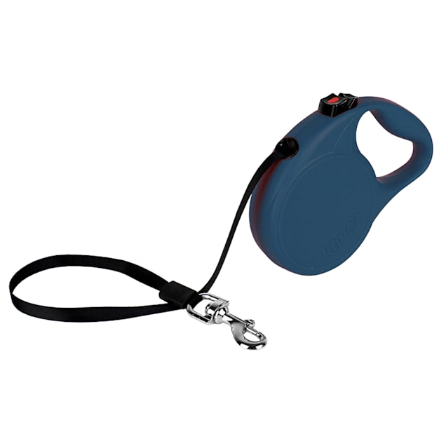 KONG Blue Trail Retractable Dog Leash for Dogs Up To 45 lbs., 16 ft. - Carousel image #1