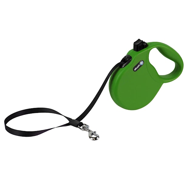 alcott Green Wanderer Retractable Dog Leash for Dogs Up To 65 lbs., 16 ft. - Carousel image #1
