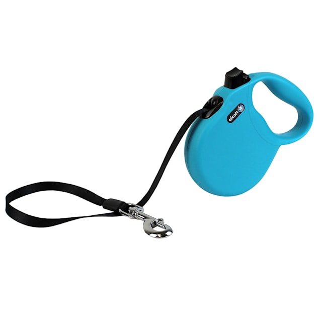 alcott Blue Wanderer Retractable Dog Leash for Dogs Up To 110 lbs., 16 ft. - Carousel image #1