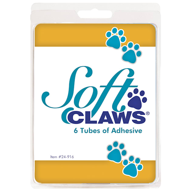 Soft Claws Adhesive Refill, Pack of 6 - Carousel image #1