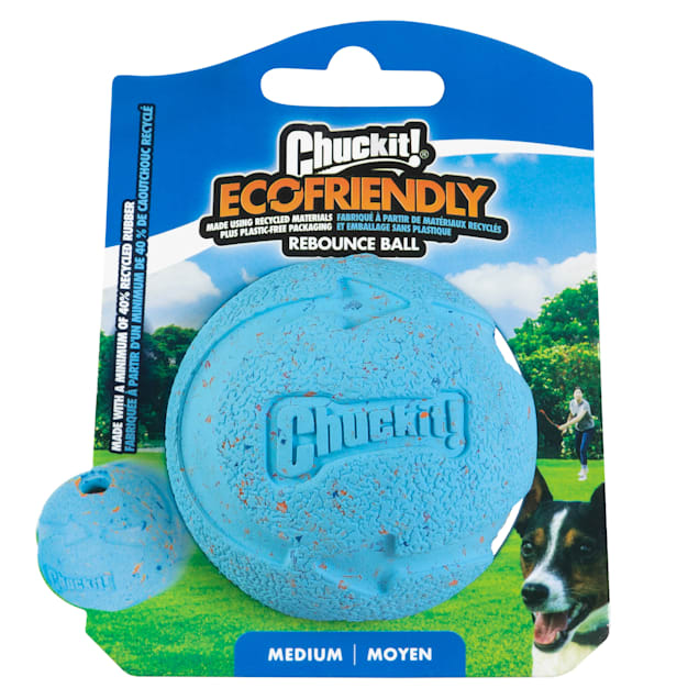 Chuckit! Ecofriendly Rebounce Ball Dog Toy, Medium - Carousel image #1