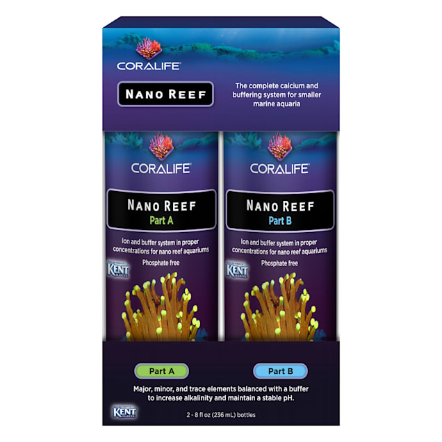Coralife Nano Reef Part A/B, 8 fl. oz. - Carousel image #1