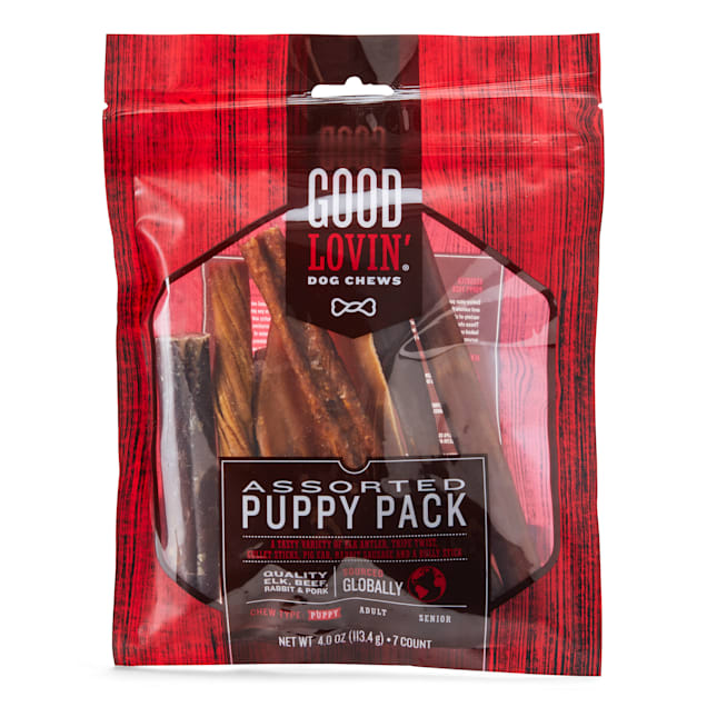 Good Lovin' Assorted Puppies Chews, Pack of 7 - Carousel image #1