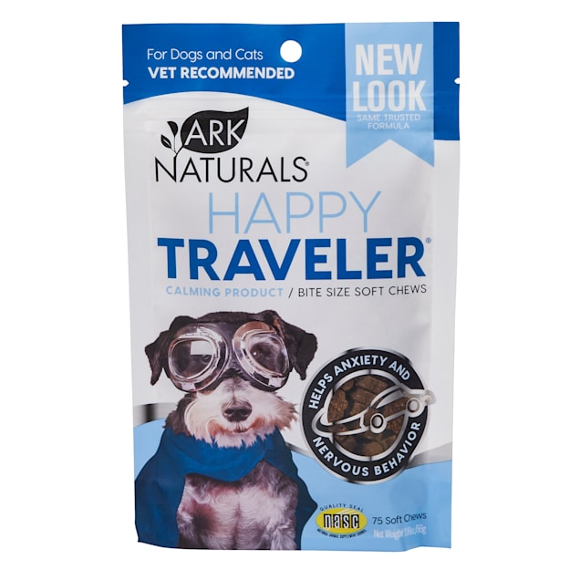 Ark Naturals Happy Traveler Soft Chews for Pets, 1.98 oz., Count of 75 - Carousel image #1