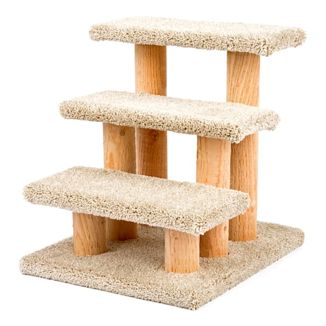 """Serene Feline Triple Stairs for Cats, 19"""" H - Carousel image #1"""