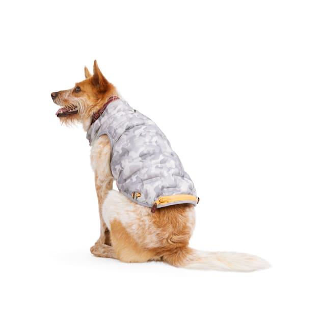 Reddy Grey Camo Dog Puffer Jacket, X-Small - Carousel image #1