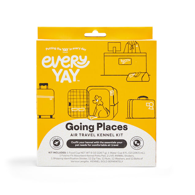 EveryYay Going Places Air Travel Dog Kennel Kit - Carousel image #1
