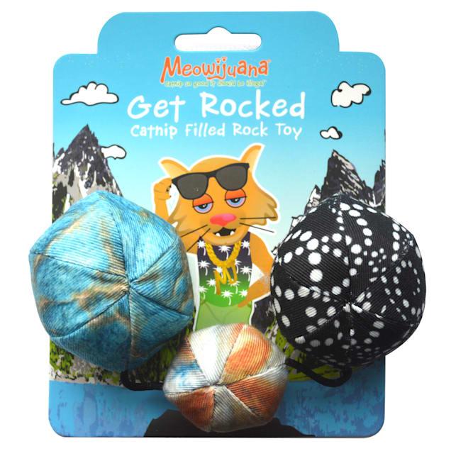 Meowijuana Get Rocked String of Stones Cat Toy, Medium - Carousel image #1