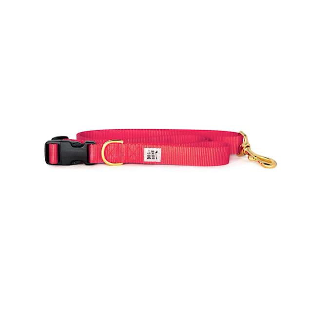 Dog + Bone Punch Adjustable Dog Leash - Carousel image #1