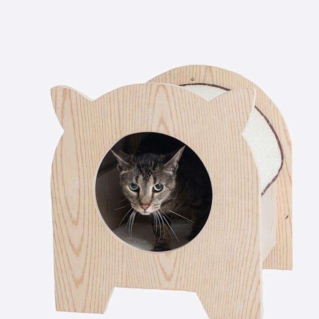 """Armarkat Model S1203 Premium Wood Cat Hideaway, 16"""" H - Carousel image #1"""