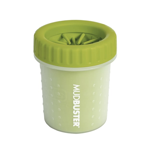 Dexas Green Mud Buster Dog Paw Cleaner, Small - Carousel image #1