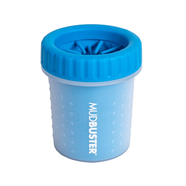 Dexas Blue Mud Buster Pro Dog Paw Cleaner, Small - Carousel image #1