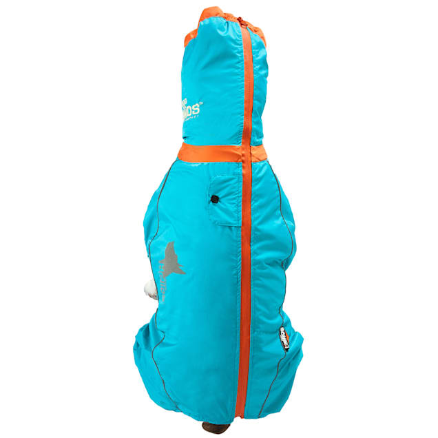Dog Helios Blue Weather-King Ultimate Windproof Full Bodied Pet Jacket, X-Small - Carousel image #1