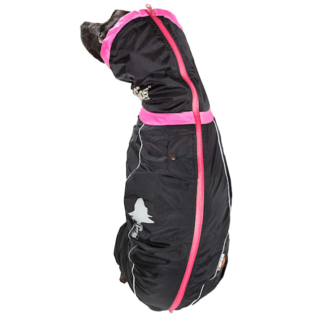 Dog Helios Black Weather-King Ultimate Windproof Full Bodied Pet Jacket, X-Small - Carousel image #1