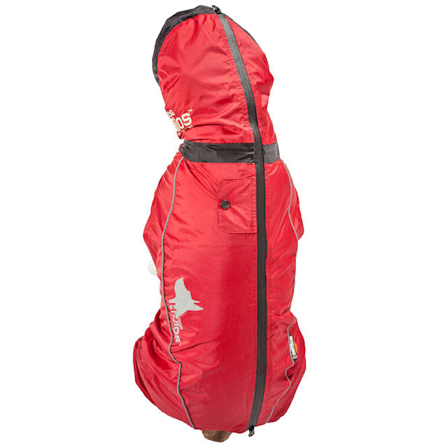 Dog Helios Red Weather-King Ultimate Windproof Full Bodied Pet Jacket, X-Small - Carousel image #1