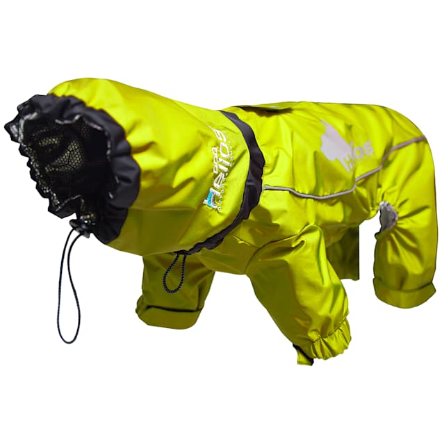 Dog Helios Yellow Weather-King Ultimate Windproof Full Bodied Pet Jacket, X-Small - Carousel image #1