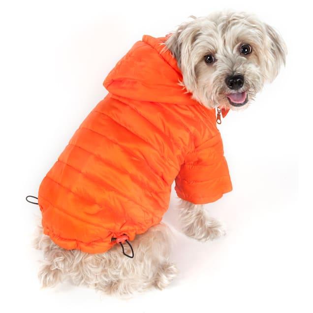 Pet Life Orange Lightweight Adjustable Sporty Avalanche Pet Coat, X-Small - Carousel image #1
