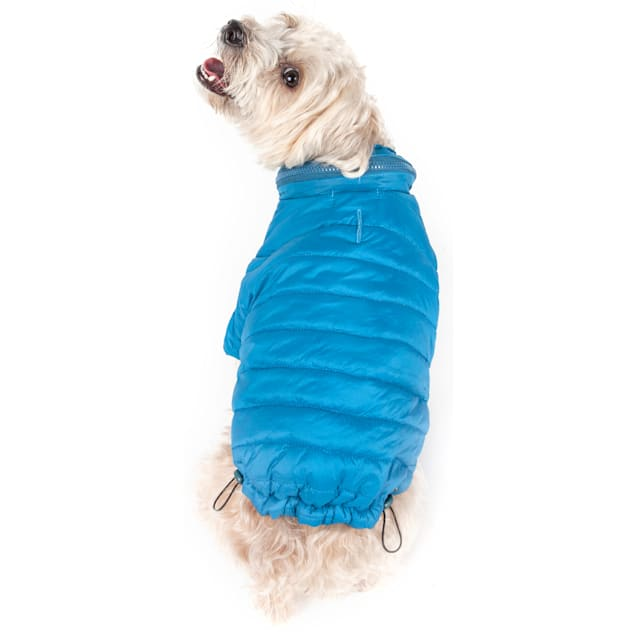 Pet Life Blue Lightweight Adjustable Sporty Avalanche Pet Coat, X-Small - Carousel image #1