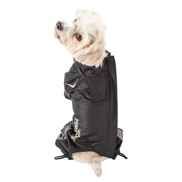 Dog Helios Black Blizzard Full-Bodied Adjustable and 3M Reflective Dog Jacket, X-Small - Carousel image #1