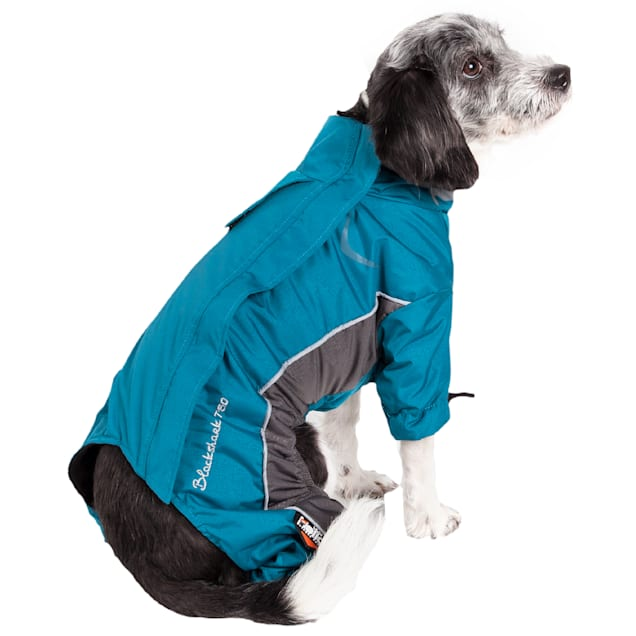 Dog Helios Blue Blizzard Full-Bodied Adjustable and 3M Reflective Dog Jacket, X-Small - Carousel image #1
