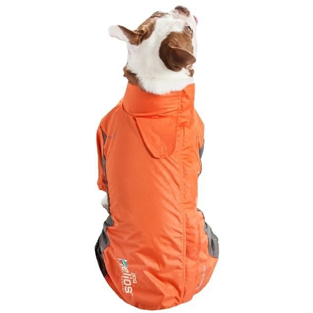 Dog Helios Orange Blizzard Full-Bodied Adjustable and 3M Reflective Dog Jacket, X-Small - Carousel image #1