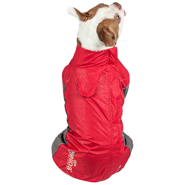 Dog Helios Red Blizzard Full-Bodied Adjustable and 3M Reflective Dog Jacket, X-Small - Carousel image #1