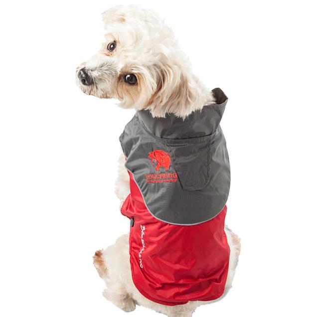 Touchdog Red Subzero-Storm Waterproof 3M Reflective Dog Coat, X-Small - Carousel image #1