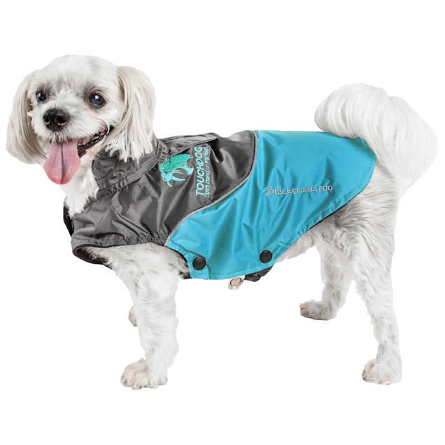 Touchdog Blue Subzero-Storm Waterproof 3M Reflective Dog Coat, X-Small - Carousel image #1