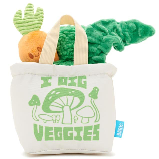 BARK Dig These Veggies Dog Toy, Medium - Carousel image #1