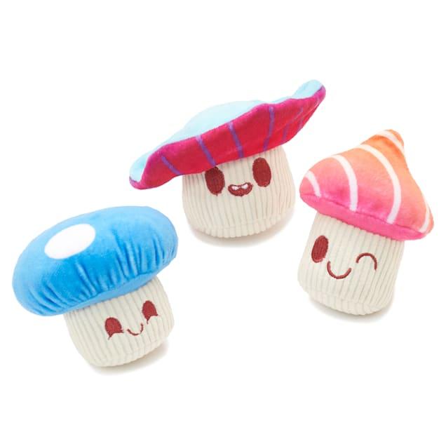 BARK Alice's Magic Mushrooms Dog Toy, Small - Carousel image #1